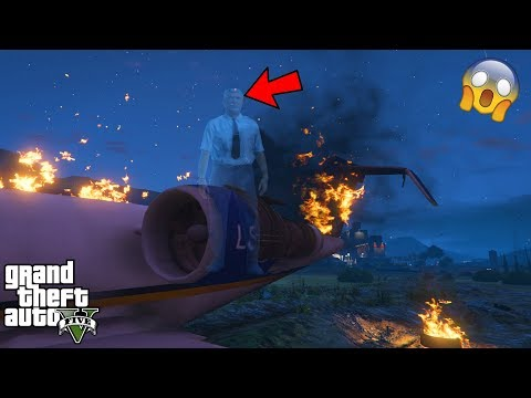 GTA 5 - Is This Pilot a GHOST?! (GTA 5 secret)