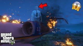 GTA 5 - Is This Pilot a GHOST?! (GTA 5 secret)