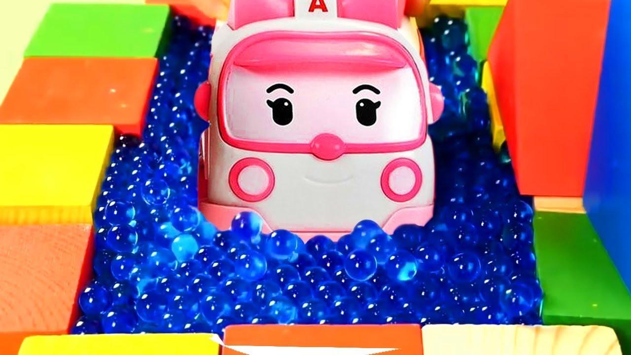 Robocar poli toys amber and roy youtube - Robocar poli ambre ...