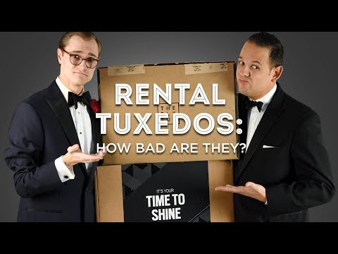 Rental Tuxedos: How Bad Are They? - Honest Reviews Of Men's Wearhouse, The Black Tux BLK, Menguin