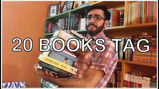 BOOKTAG: 20 BOOKS