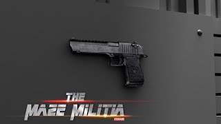 DesertEagle at Level 12 | Maze Militia : LAN & Online Multiplayer Shooting Game