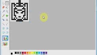 仮面ライダーBLACK・剣聖ビルゲニア emozi icon made by MS paint