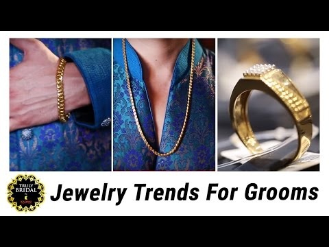 Fancy Jewelry For Groom - Fashionable and Popular Tips