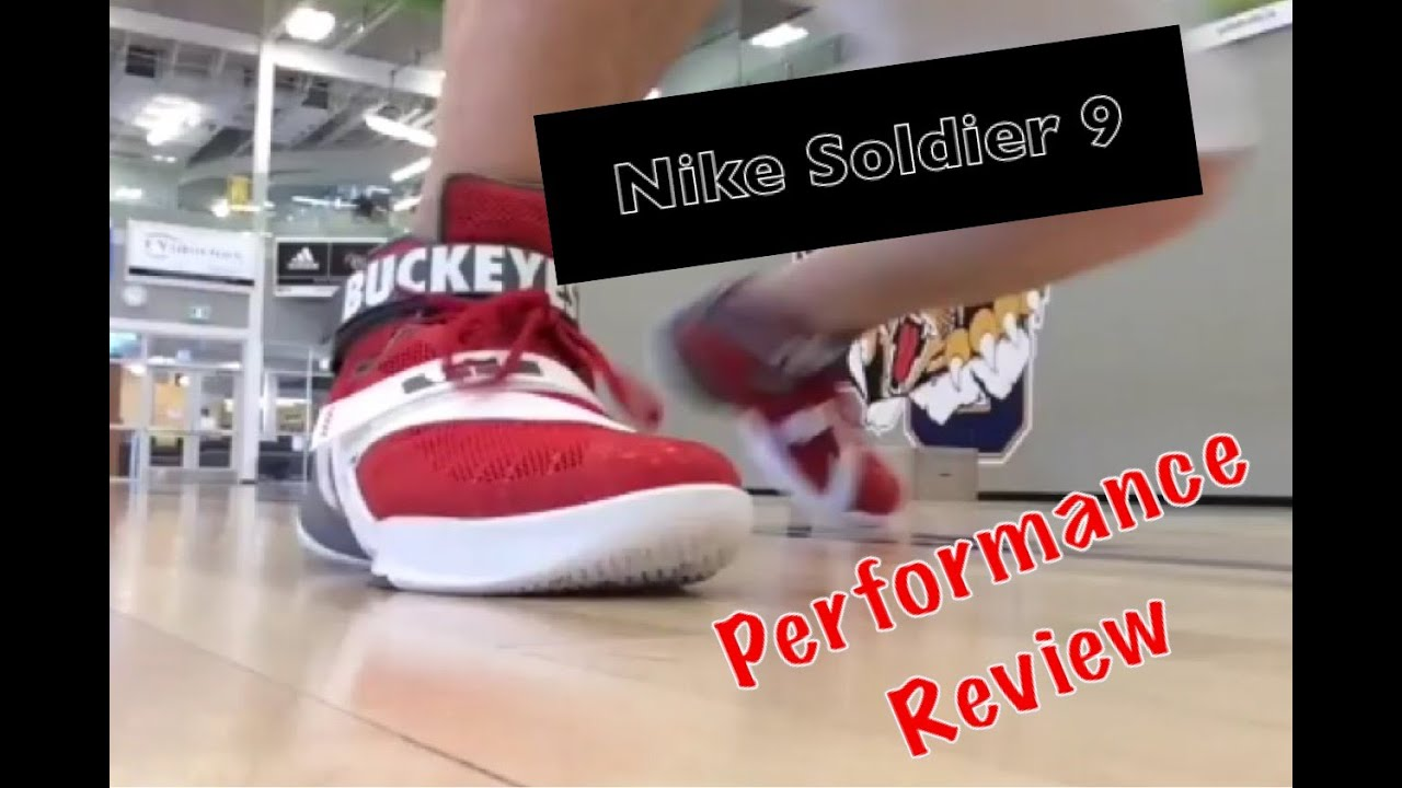 Nike Lebron Soldier 9 Performance Test and Full Review - Wheat