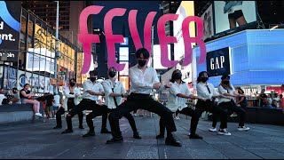 [HARU][KPOP IN PUBLIC NYC - TIMES SQUARE] ENHYPEN (엔하이픈) - FEVER DANCE COVER