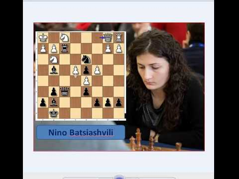 Prettiest Checkmates : 47.Javanshir Bagirov Vs Nino Barsiashvili, 2001.
