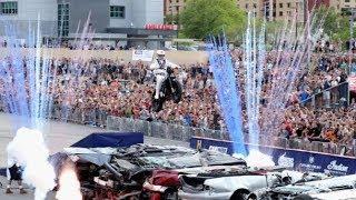 Travis Pastrana (Jump 1) 52 Cars in Las Vegas - Evel Knievel Tribute