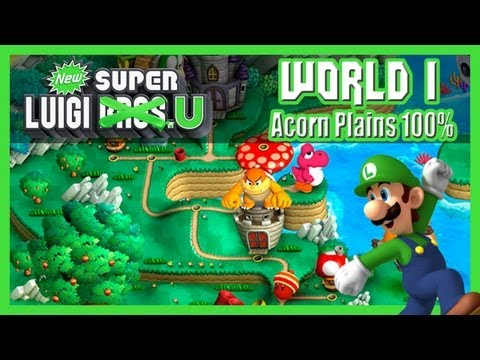 New Super Luigi U - LIVESTREAM Part 1: World 1 \