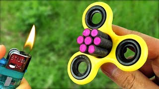 Amazing Experiment Fidget Spinner & Petard