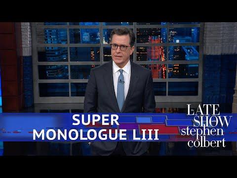 Stephen Colbert's Post-Super Bowl Monologue