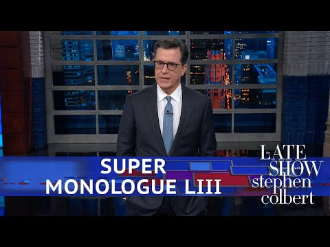 Stephen Colbert's Post-Super Bowl Monologue Mp3