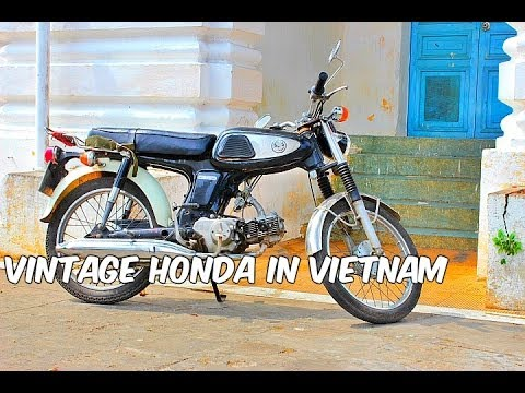 The SS50: a vintage Honda in Vietnam