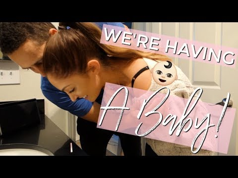 I'M PREGNANT! || FINDING OUT WE'RE HAVING A BABY!!