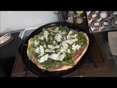 Grillstein Für Gasgrill : Rucolapizza mit seranoschinken vom großen grillstein pampered chef