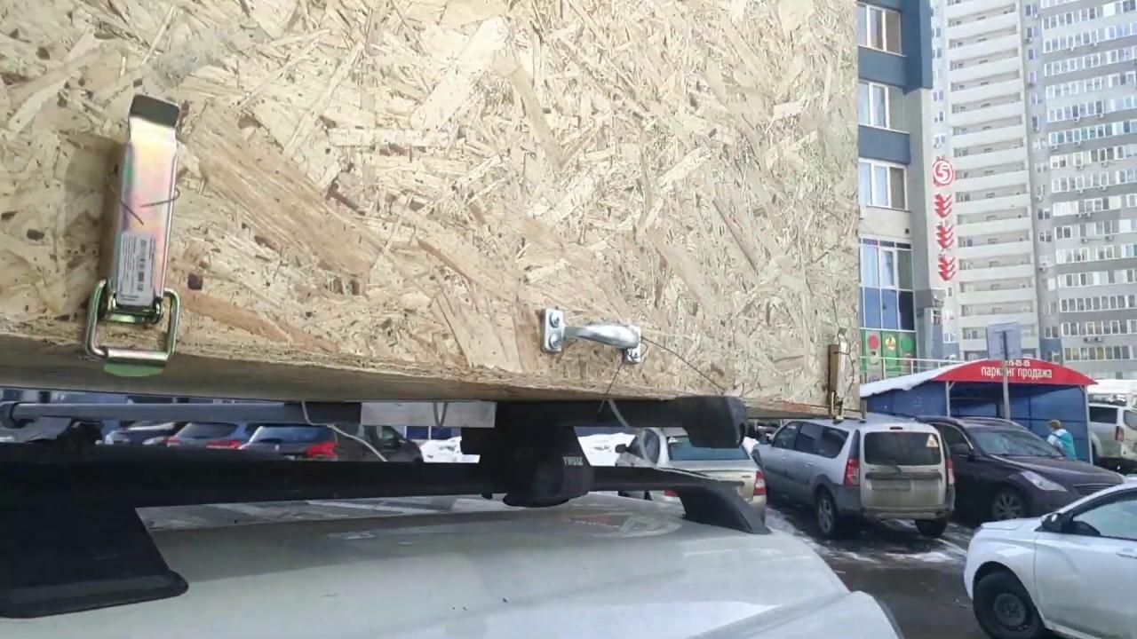 Самодельный бокс на крышу авто