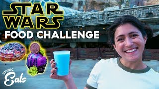 Ultimate Star Wars Galaxy Edge Food Challenge: Trying All Of The Disney World Treats