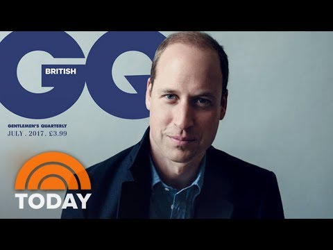 Prince William Opens Up About His Mother Princess Diana's Death | TODAY