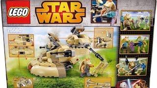 Обзор LEGO Star Wars 75080 AAT