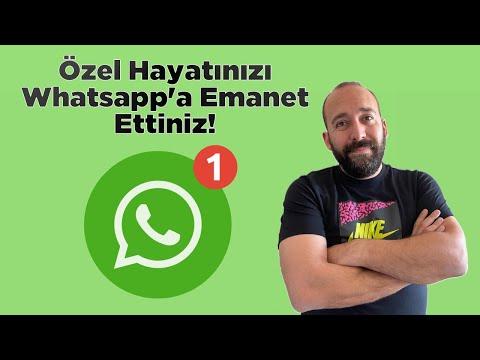 Whatsapp Özel Hayatınıza Sızdı ve Siz Sözleşmeyi Çoktan Kabul Ettiniz Bile!
