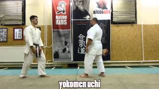 uchi kata/strikes/ ütések [TUTORIAL] Aikido empty hand basic technique: