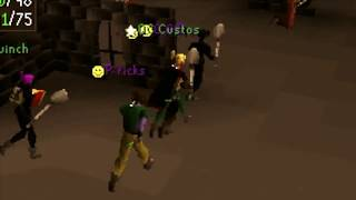 OSRS- the best rushing video (how to make money in Runescape) Pking over 170m Ancient mace