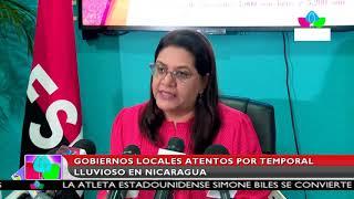 Multinoticias | Gobiernos locales atentos por temporal lluvioso en Nicaragua