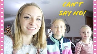 Little Sisters Control My Life For A Day! (Jaidyn, Lyla & Sophie)