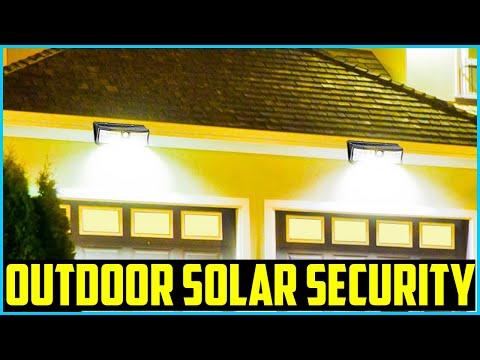 Top 5 Best Outdoor Solar Security Lights in 2020
