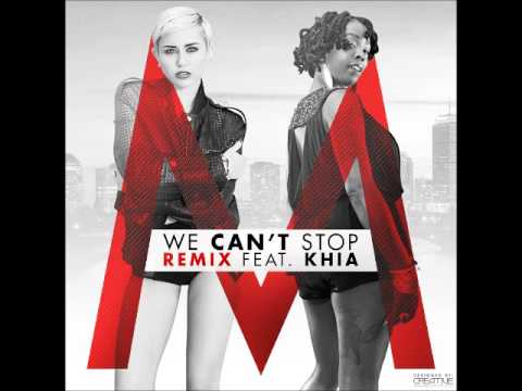 Miley Cyrus feat. Khia - We Can't Stop...