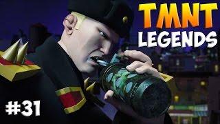 Черепашки-Ниндзя: Легенды. Прохождение #31 (TMNT Legends IOS Gameplay 2016)