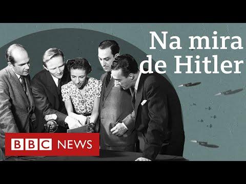 Os brasileiros que viveram a 2ª guerra mundial em Londres