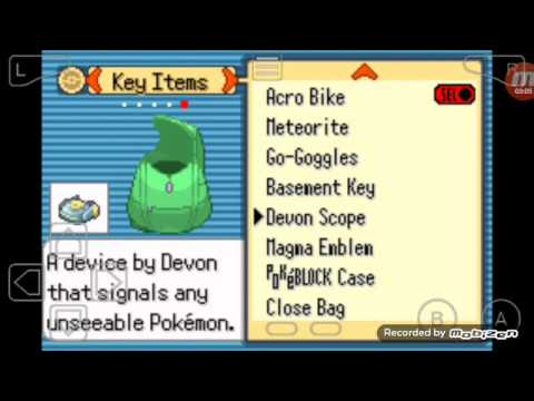 Pokemon Theta Emerald Walkthrough #13 Find Sharpedo for mega evolve!!!???