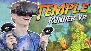 VIRTUAL REALITY TEMPLE RUN! | Runaway VR (HTC Vive Gameplay)