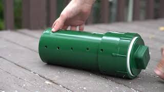 How To Make An Official Barn Hunt Training Tube (Barn Hunt Association Rat Tube)