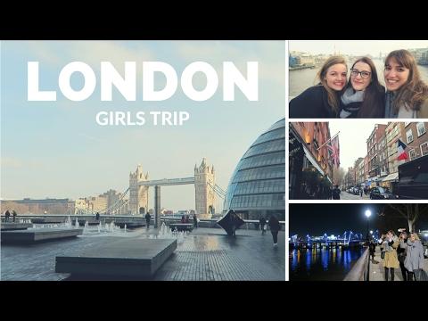 LONDON ✨| Girls Trip | Travel Vlog #24 | 2017