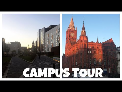 Uni of Liverpool Campus Tour - Nikita Jade