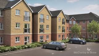 Hampton place, mccarthy & stone's shirley retirement living development is located on a quiet road in between and the neighbouring suburb of maybush ...