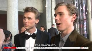 GULLRUTEN Хенрик и Тарьяй: Интервью для VGTV (Русские субтитры) | Henrik & Tarjei - VGTV RUS SUB