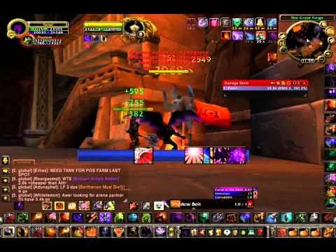 demonology warlock 3.3.5 pve guide (molten wow server ragnaros)