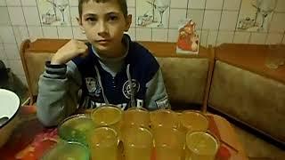Желе из лимонада Jelly lemonade