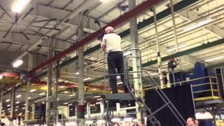 Spirit rolls out pylon for MRJ90