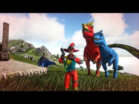 ARK: Survival Evolved - Đại chiến với Rồng lửa và khủng long Titanosaur =))