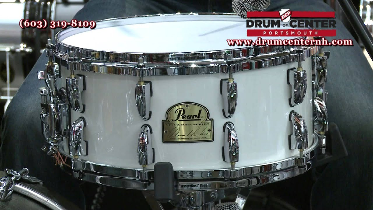 Pearl Dennis Chambers Signature Snare Drum 6.5x14 - DC1465 - YouTube