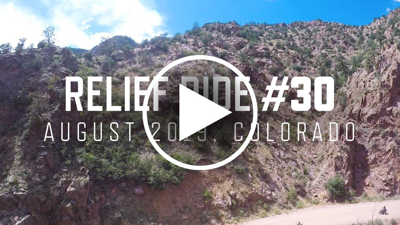 Relief Ride 30   August 2019   Colorado