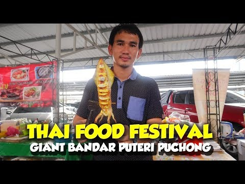 THAI Halal Food Festival in Puchong