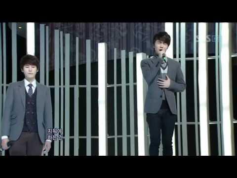 SM The Ballad - miss you (SM The Ballad - 너무 그리워) @ SBS Inkigayo 인기가요 101128