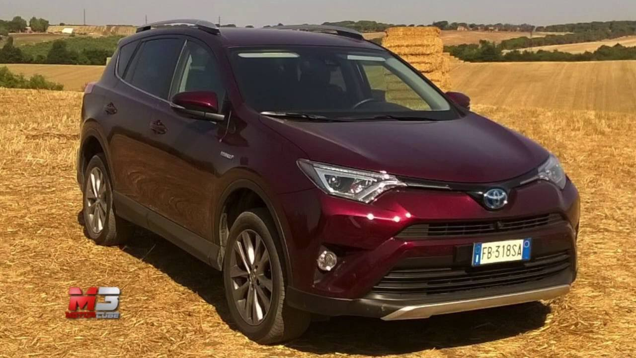 New Toyota Rav4 Hybrid 2016 First Test Drive Off Road Only Sound
