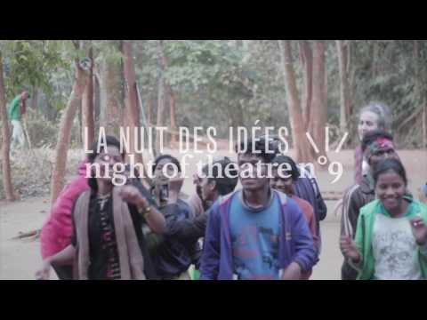 Teatro Del Presentar Trimukhi Platform