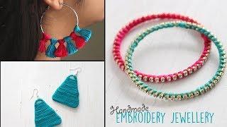Handmade Embroidery Jewellery